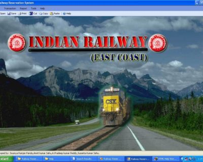 Rail Reservation System Project for CBSE Class 12th