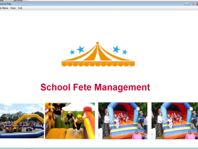 School Fete Management System