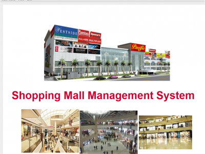 Shopping Mall Management System